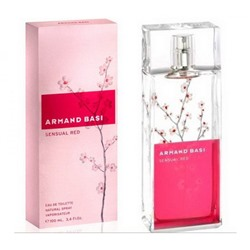 Armand Basi Sensual Red for woman 100ml
