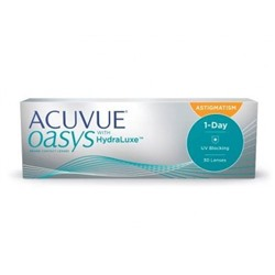 Acuvue Oasys 1-Day with HydraLuxe for Astigmatism  30 линз
