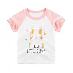 "Футболка 27Home ""Little Bunny"" белая"